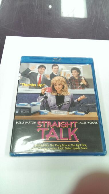 STRAIGHT TALK BLU-RAY MOVIE, NEW IN PACKAGE