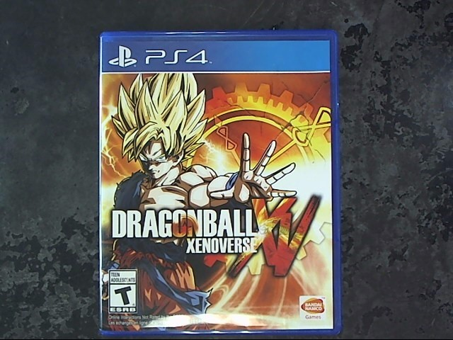 SONY Sony PlayStation 4 Game PS4 DRAGONBALL XENOVERSE XV