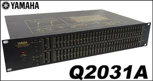 YAMAHA Equalizer Q-2031A DUAL CHANNEL 1/3 OCTAVE