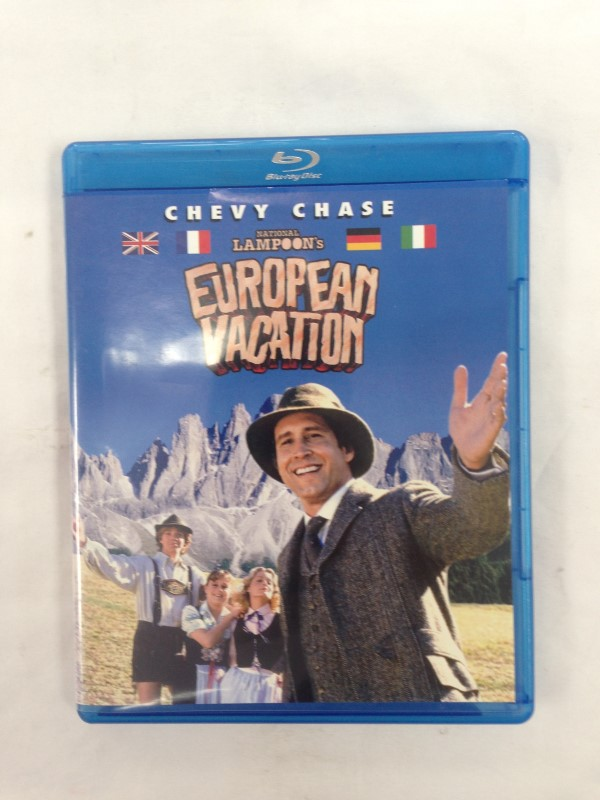 Blu-Ray NATIONAL LAMPOON'S EUROPEAN VACATION