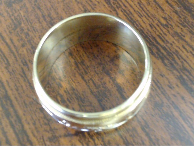 ESTATE ETERNITY DESIGN WED RING BAND TRI TONE SOLID 14K GOLD SZ 9.5