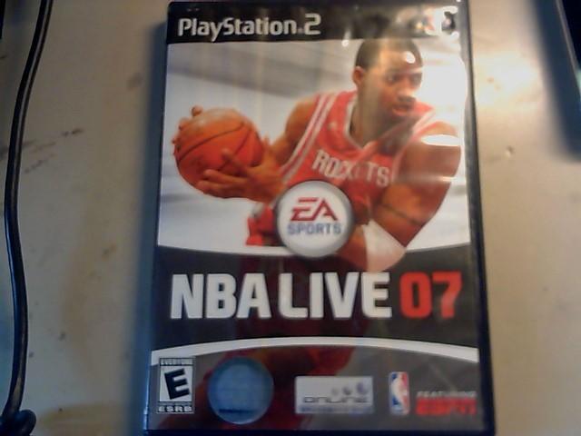SONY playstation 2 EA Sports NBA Live 07