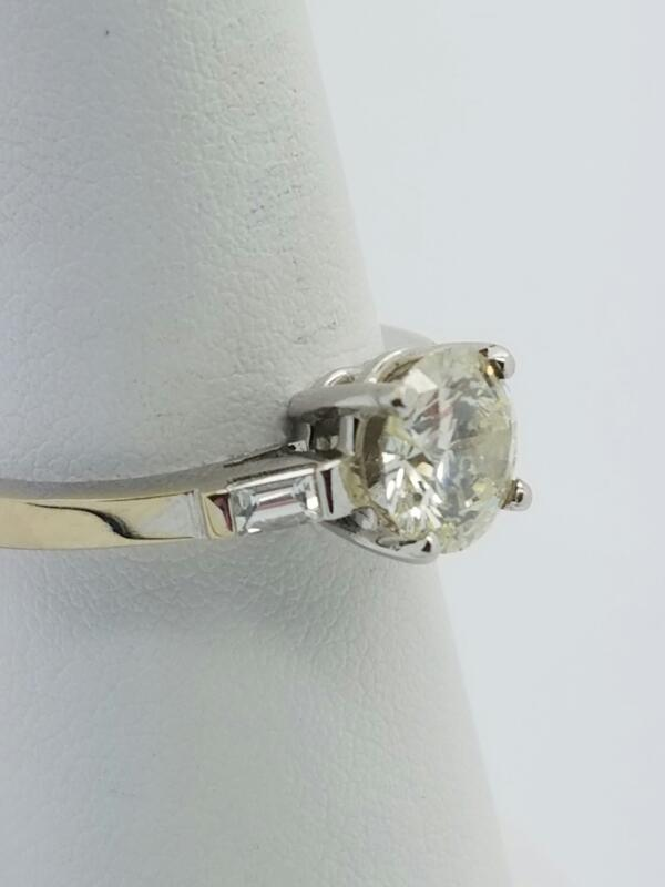 18KWG WMS #7.25 RING,1.5CT DIA