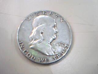 UNITED STATES Silver Coin 1952 HALF DOLLAR