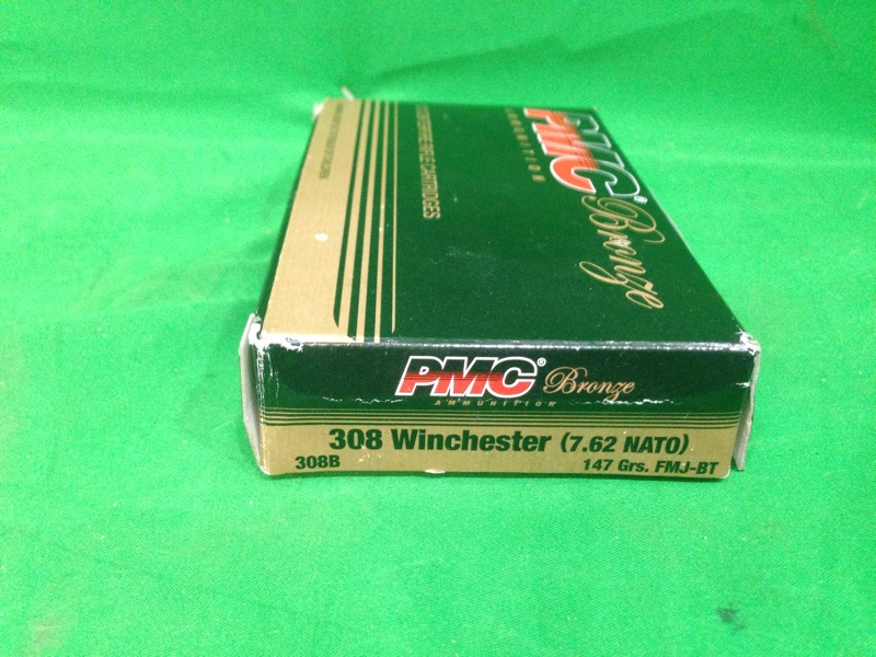PMC 308 WIN 147 GR FMJ-BT 20RDS