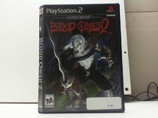 SONY Sony PlayStation 2 Game BLOOD OMEN 2