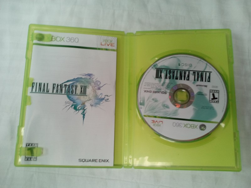 MICROSOFT XBOX 360 FINAL FANTASY XIII