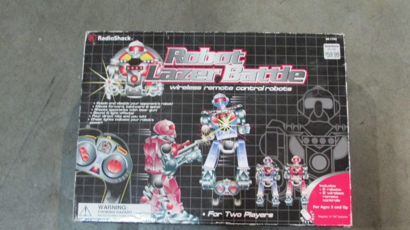 ROBOT LAZER BATTLE TOY