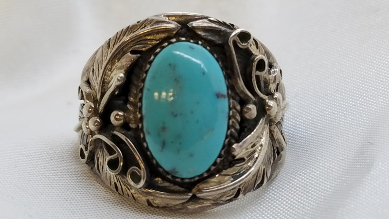 Gent's Silver Ring 925 Silver 12g