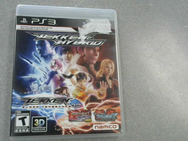 SONY Sony PlayStation 3 Game TEKKEN HYBRID