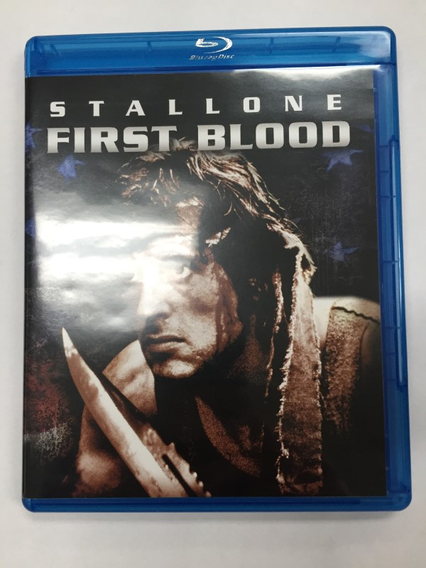 RAMBO FIRST BLOOD ACTION BLU-RAY MOVIE