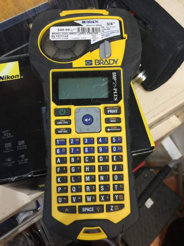 BRADY Miscellaneous Tool BMP21 LABEL PRINTER