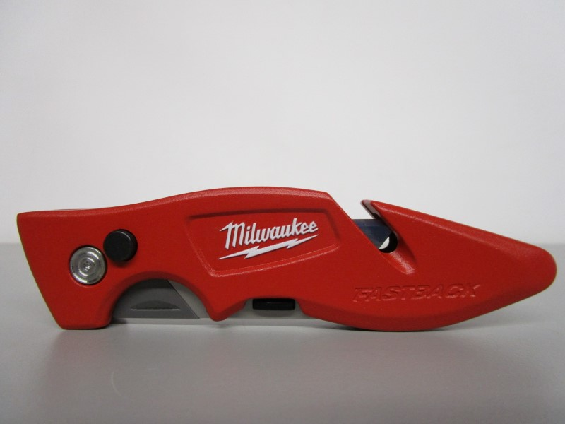 MILWAUKEE FASTBACK FLIP UTILITY RAZOR BLADE KNIFE, BOX CUTTER