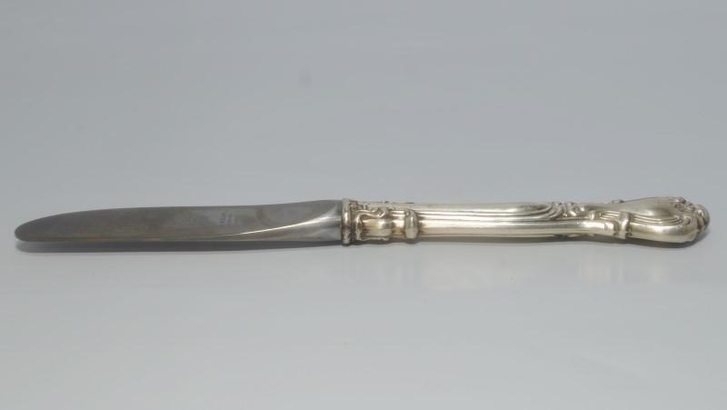 "Chantilly by Gorham 6-1/4"" Silver Modern Hollow Butter Spreader Knife NO MONO"