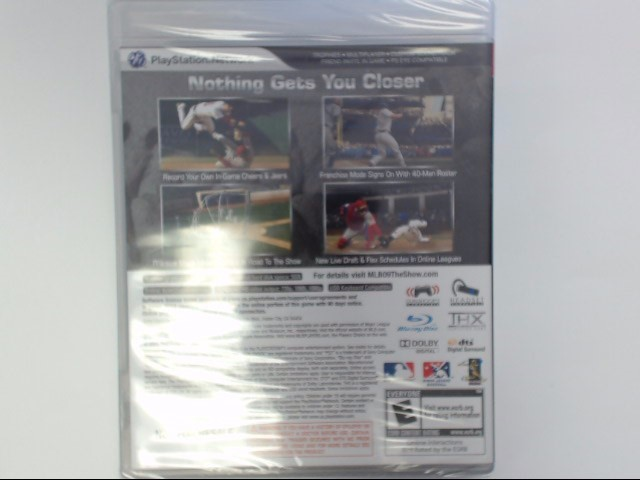 Sony PlayStation 3 Game MLB 2009