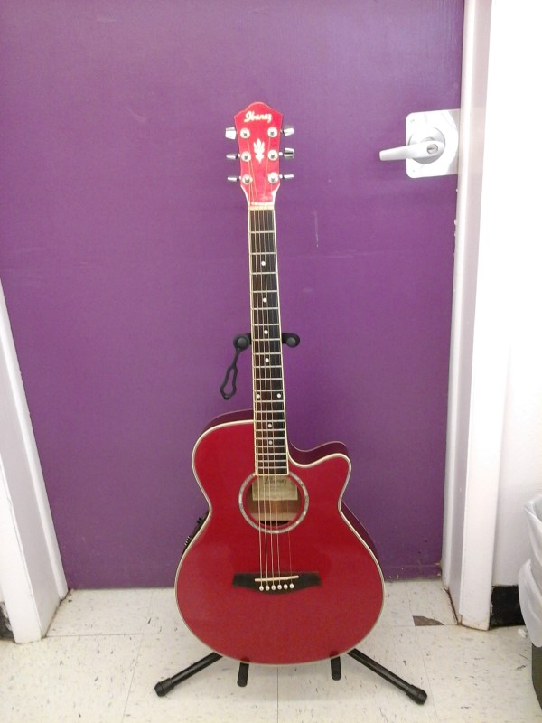 IBANEZ Electric-Acoustic Guitar AEG10E-MR-14-02