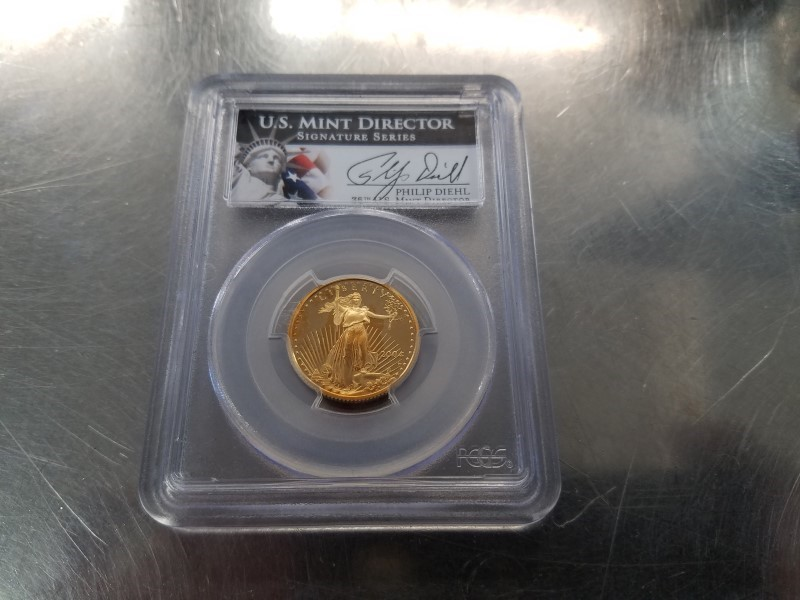UNITED STATES Gold Coin 2004-W $10 GOLD COIN PCGS PR69DCAM GOLD EAGLE