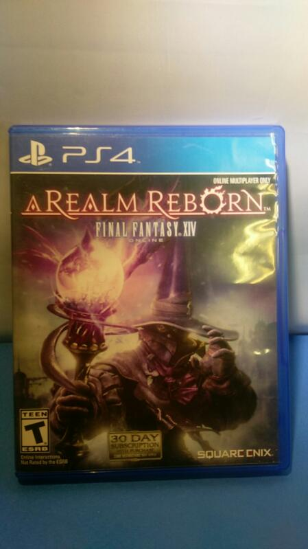 PLAYSTATION 4 FINAL FANTASY XIV A REALM REBORN GAME