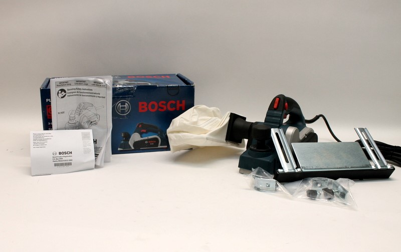 BOSCH Planer PL1632 6.5 Amp 3-1/4th in Dual Mount Guide 16.5K RMP in Box