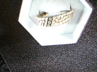 Gent's Gold Ring 10K Yellow Gold 3.75g