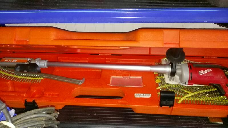 PAM FASTENING TECHNOLOGY Screw Gun 45-75