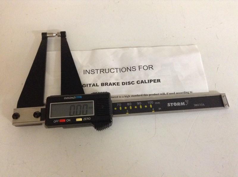 STORM Measuring Tool DIGITAL BRAKE DISC CALIPER