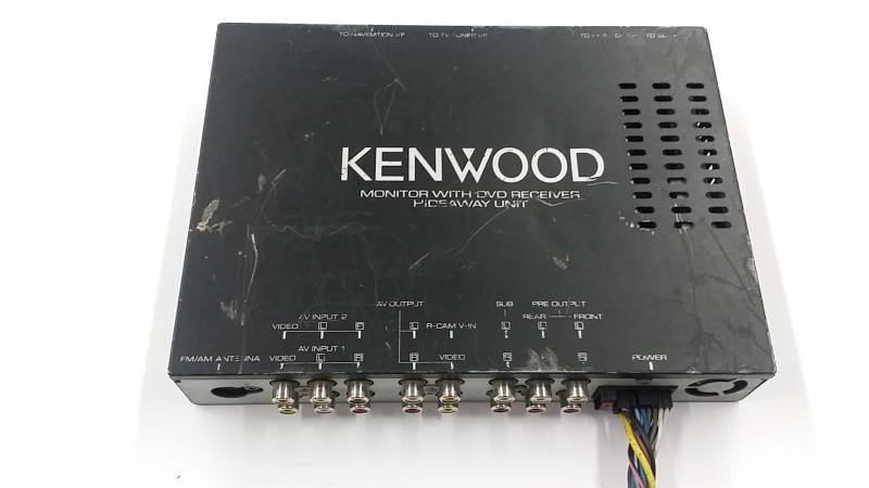 KENWOOD KVT-717DVD STEREO, BRAIN MODULE, MAIN CORD, HARNESS