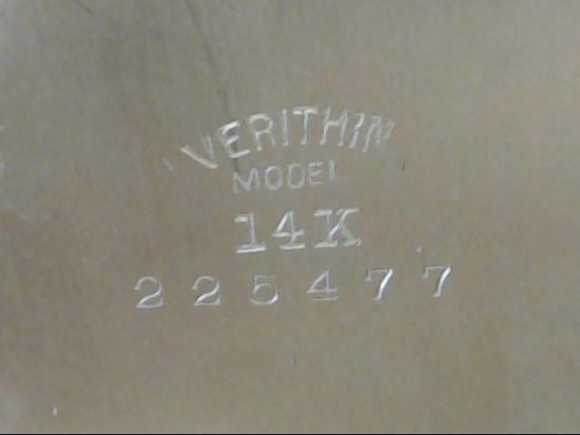 Gruen Verithin 14K Pocket Watch 17 Jewels Vintage Open Face