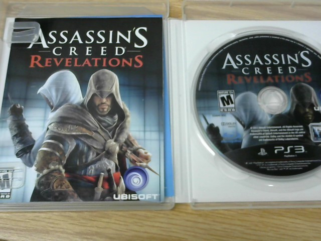 SONY Sony PlayStation 3 Game ASSASSINS CREED REVELATIONS