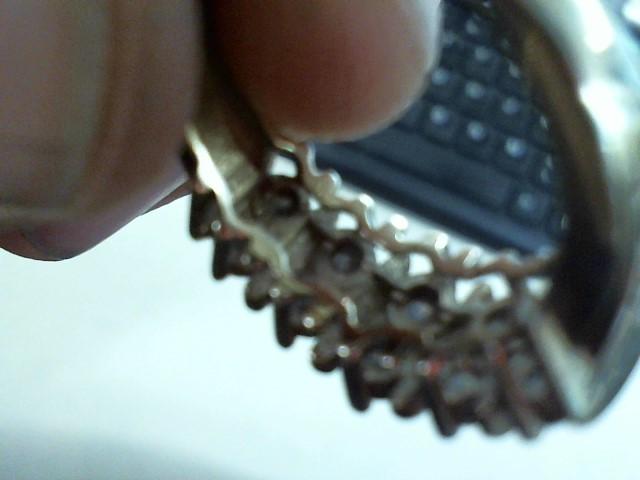 Lady's Diamond Fashion Ring 10 Diamonds .80 Carat T.W. 10K Yellow Gold 3.8g