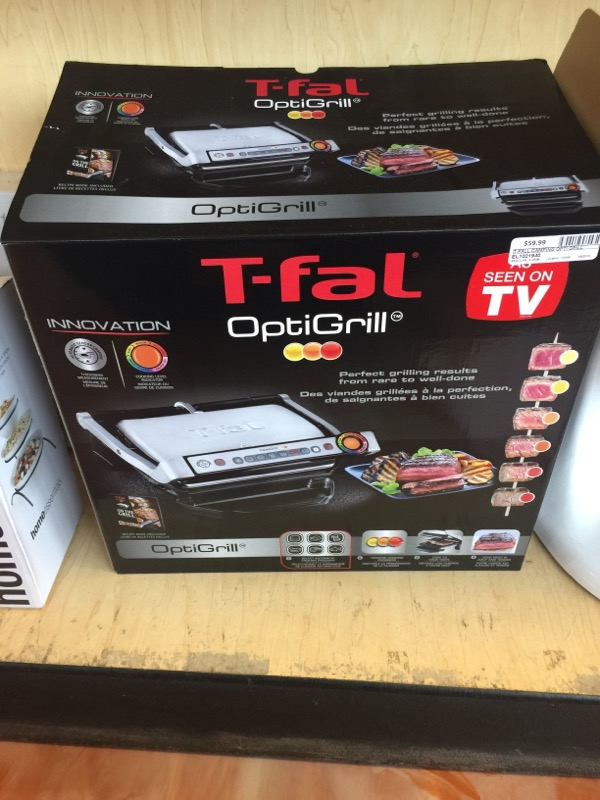 T-FALL Camping OPTI GRILL