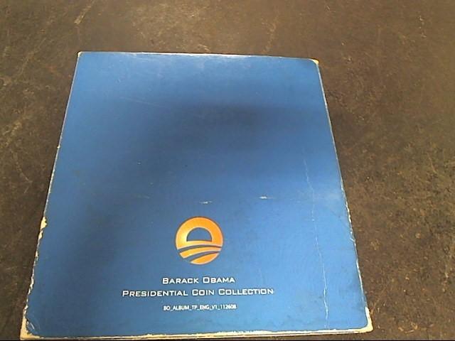 BARACK OBAMA PRESIDENTIAL COIN COLLECTION