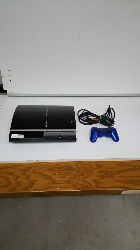 Sony PlayStation 3 Fat 80gb Piano Black Console, PS3 (CECHK01)