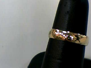 Lady's Gold Ring 14K Yellow Gold 1.1dwt Size:6
