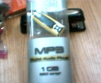 SLICK Mini-Stereo MP3 DIGITAL AUDIO PLAYER