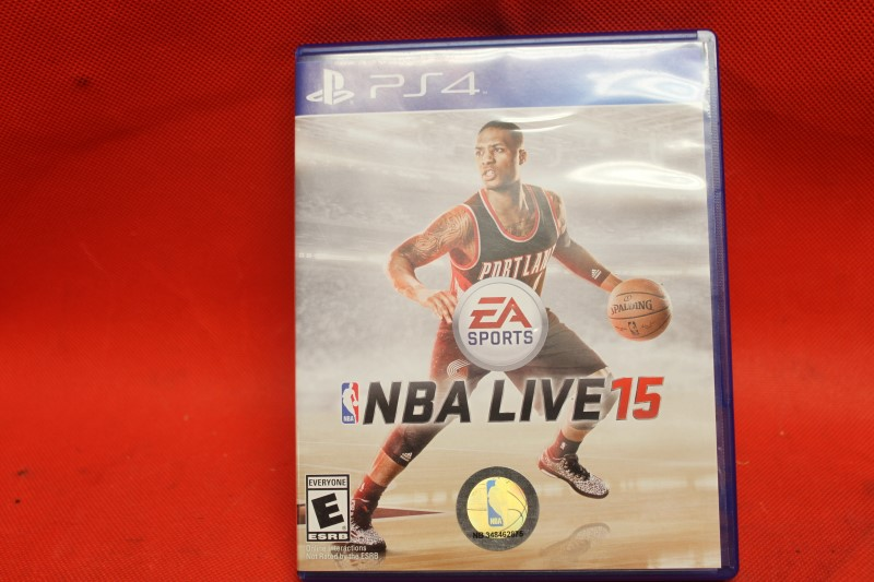 NBA Live 15 PS4 PlayStation 4 USED
