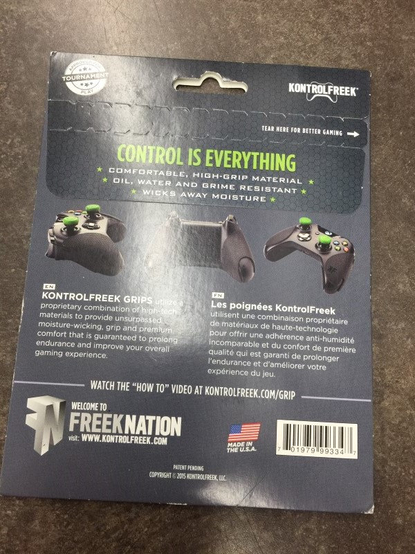 KONTROLFREEK Video Game Accessory GRIPS