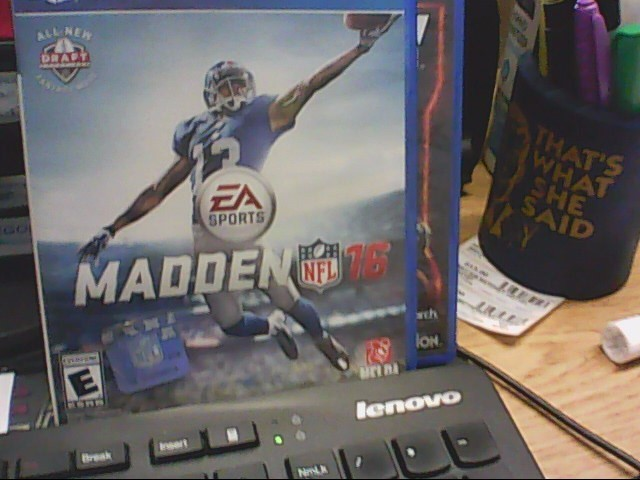 SONY Sony PlayStation 4 Game MADDEN 16 - PS4