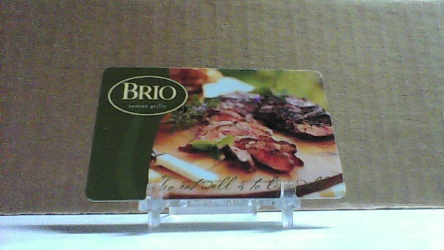 Brio Grille $50.00 Gift Card