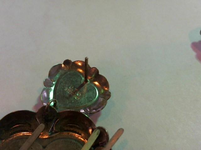 Black Stone Silver-Stone Earrings 925 Silver 25.9g