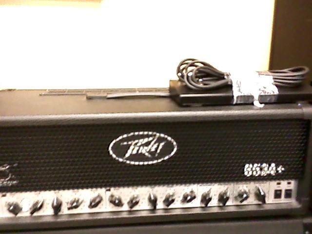 PEAVEY Electric Guitar Amp 6534+