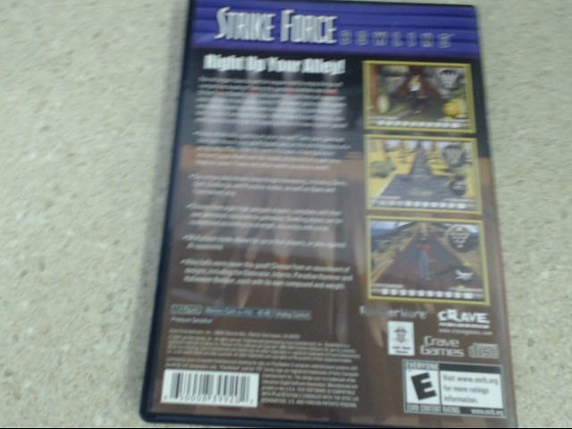 STRIKE FORCE BOWLING - PS2 GAME