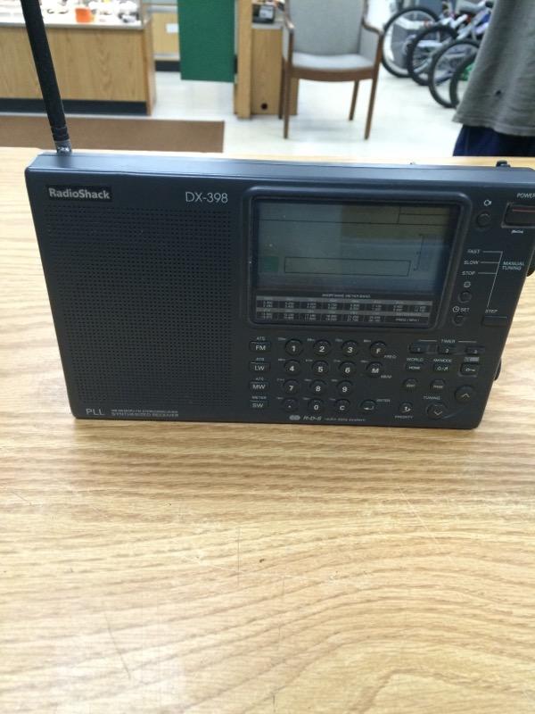 RADIO SHACK Radio DX-398