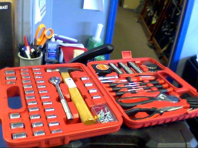 ULTRA-TOUGH Mixed Tool Box/Set ULTRA STEEL 110PC TOOL SET