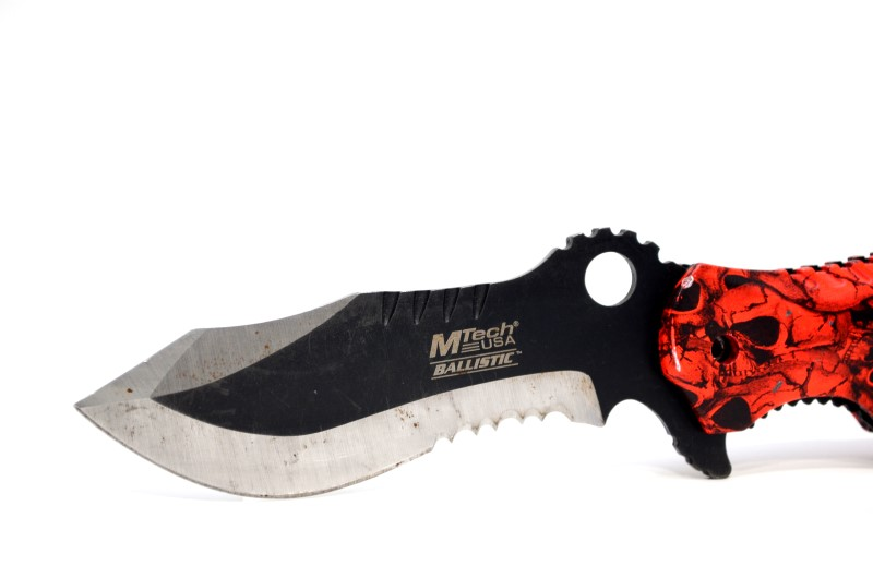 """MTECH MT-A808 ASSISTED OPEN POCKET KNIFE 4.75"""" CLOSED 3.5"""" BLADE>"""