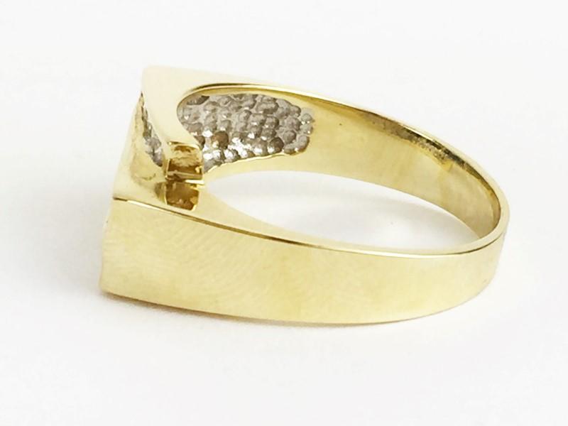 Sapphire Lady's Stone & Diamond Ring 10 Diamonds .50 Carat T.W.