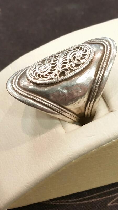 Lady's Silver Ring 925 Silver 2.8dwt Size:5.3