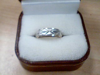 Lady's Gold Ring 10K 2 Tone Gold 2.7g
