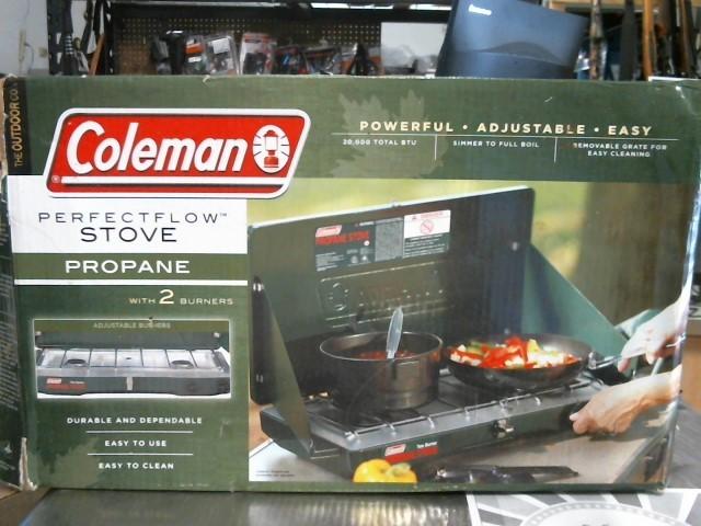 COLEMAN Camping PROPANE STOVE