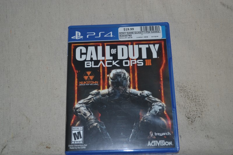 SONY Game QUANITY-PS4 GAMES